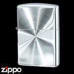 Sterling Silver Zippo - Diamond Cut  (Simple)