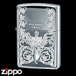 Sterling Silver Zippo - Paladin's Cross  (III)