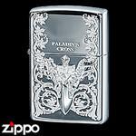 Sterling Silver Zippo - Paladin's Cross  (III)