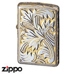 Sterling Silver Zippo - Foliage  (15SG5HC2)