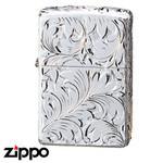 Sterling Silver Zippo - Foliage  (15H5HC1)