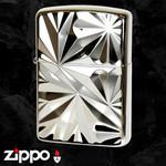 Engraved Armor Zippo  (Diano Silver)