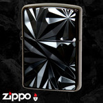 Engraved Armor Zippo  (Black Nickel)