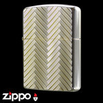Armor 162 Zippo - Wire Mesh  (Silver and Gold)