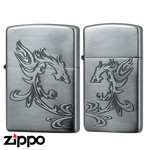 Pair Zippo - Dragon Flame