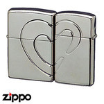 Pair Zippo - Lovers' Heart
