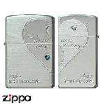 Pair Zippo - My Destiny  (Silver)