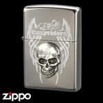 Skull Zippo - Easy Riders