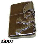 Skull Zippo - Old-Fashioned Jolly Roger