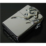 Chrome Zippo - Chrome Fire  (I)
