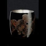 Titanium Japanese Lacquer Cup by Rhus  (Lion)