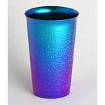 Titanium Beer Cup  (Blue)