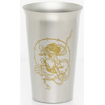 Titanium Beer Cup  (Thunder God)