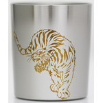 Titanium Shot Glass  (Tiger)