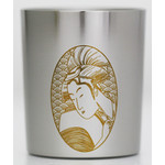 Titanium Shot Glass  (Utamaro)
