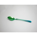 Titanium Cake Spoon  (Gradation Green)