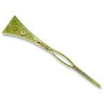 Titanium Hair Stick  (Wild Chrysanthemum)