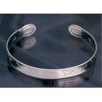 Titanium Bangle  (Horses M)