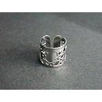 Titanium Ear Cuff  (Riddled)