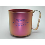 Titanium Mug Cup - Colors  (Pink)
