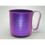 Titanium Mug Cup - Colors  (Violet)