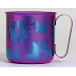 Titanium Mug Cup - Bloom  (Violet)