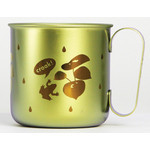 Titanium Mug Cup - Croak!  (Gold)