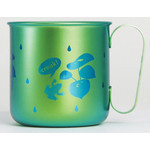 Titanium Mug Cup - Croak!  (Green)