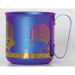 Titanium Mug Cup - Pigs  (Violet)