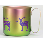 Titanium Mug Cup - Deer  (Spring)