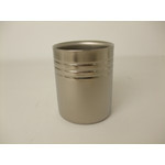 Double-Walled Titanium Mug Cup - Medium  (Platinum)
