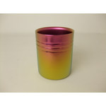 Double-Walled Titanium Mug Cup - Medium  (Pink Gold)