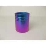 Double-Walled Titanium Mug Cup - Medium  (Violet Blue)
