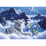 Schim Schimmel - Bed of Clouds 2000 Piece Glow in the Dark Jigsaw Puzzle