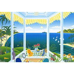 Thomas McKnight - Caribbean Golf 2000 Small Piece Jigsaw Puzzle
