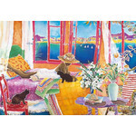 Jennifer Markes - Room with a View 500 Small Piece Jigsaw Puzzle
