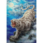 Tiger Roar - Japanese Design 1000 Piece Jigsaw Puzzle