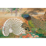 Peacocks - Japanese Design 1000 Piece Jigsaw Puzzle
