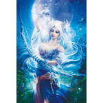 Fukami Kazuha Fantasy Art - Goddess of the Moon 1000 Micro Piece Jigsaw Puzzle