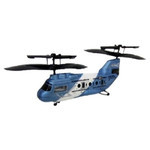 Honey Bee Hyper Tandem - Indoor RC Helicopter (Blue)
