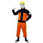 NARUTO: Shippuden - Naruto Uzumaki Costume Set (S)