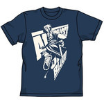 NARUTO: Shippuden - Sasuke Action T-Shirt (Indigo M)