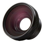 Panasonic - VW-W4307H-K Wide-Angle Conversion Lens for the TM350 Camcorder