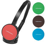 Audio-Technica ATH-WM55 RD Interchangeable Color Fashion Headphones (Red + 3 Colors)