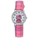 CITIZEN Q&Q - Hello Kitty Watch - V723-130 (Checkered Pink)