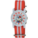 CITIZEN Q&Q - Hello Kitty Watch - VQ63-131 (Striped Red)