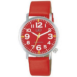Citizen Q&amp;Q - Universal Design Ultra Light Watch W676-305 (Red)