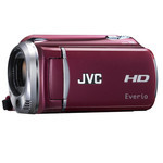 JVC Full HD Camcorder Everio GZ-HD620 (Red)