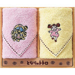 My Neighbor Totoro - Mini Towel Set  (Catbus &amp; Mei)