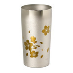 Titanium Double-Wall Tumbler - PREMIUM  (Sakura Large)
